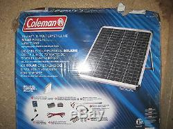 Coleman 70 Watt 12 Volt Crystalline Solar panel kit PLUG AND PLAY