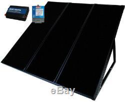 Coleman Amorphous Solar Back Up Kit Cabin Camping RV Outdoor 55 Watt 12 Volt 12V