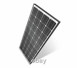 Cyclops 130 Watt 12 Volt Monocrystalline Solar Panel