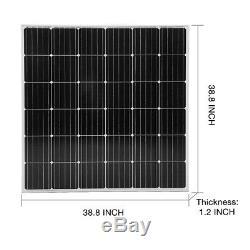 DOKIO 150 Watt 12 Volt Monocrystalline Solar Panel