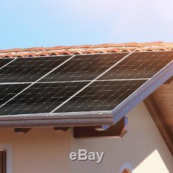 DOKIO 150 Watt 12 Volt Monocrystalline Solar Panel For RV Home/Garden