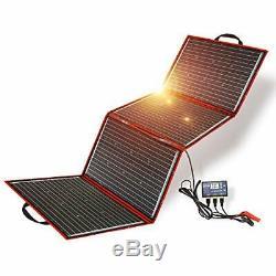 DOKIO 220 Watts 12 Volts Monocrystalline 220 Watts Monocrystalline Foldable