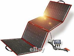 Dokio 220 Watts 12 Volts Monocrystalline Foldable Solar Panel With Charge Contro