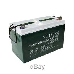ECO 100Ah 12V Deep Cycle Battery 12 Volt Solar Power Battery Free shipping