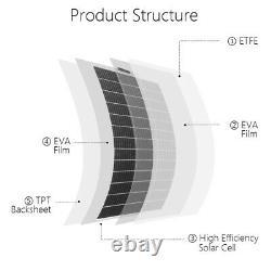ECO 130W 260W 520W 780W Watt 12Volt Mono Flexible Solar Panel for RV Boat Home