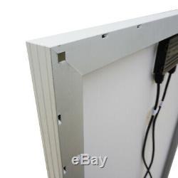 ECO 1- 200 Watt 12 Volt Battery Charger Solar Panel Off Grid RV Boat Trailer US