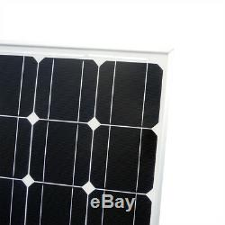 ECO-WORTHY 100W Watt Mono Solar Panel 12V Volt Off Grid Power Charge Home Camper