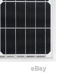 ECO-WORTHY 100 Watt to 1000 Watt New Compact Design 100 Watt 12 Volt Solar Panel