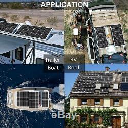 ECO-WORTHY 100 Watts 12 Volts Monocrystalline Solar Panel for RV, Boat, Home