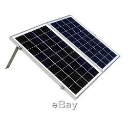 ECO-WORTHY 12 Volts Portable Foldable Solar Panel Kit Solar Suitcase Battery