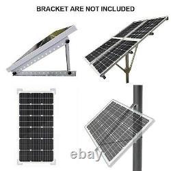 ECO-WORTHY Upgraded 100 Watts 18 Volts Monocrystaline Photovoltaic Solar Pane