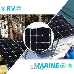 Eclipse 100-Watt 12-Volt Monocrystalline Solar Panel for RV Boat Solar System