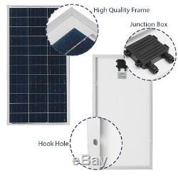 Elfeland 80 Watt 80W Solar Panel 18V Volt Poly Off Grid Battery Charge RV Baot