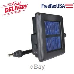 Feeder Solar Power Panel Built in Battery Indicator 6 Volt for Moultrie Feeders