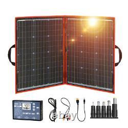 Flexible Black Solar Panels Foldable 12 Volt Controller 100 Watt Panels Solar