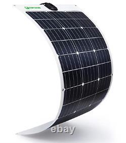 Flexible Solar Panel 100W 12V Monocrystalline Bendable 100 Watt 12Volt Mono for