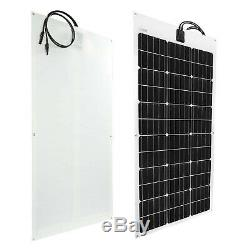 Flexible Solar Panel 100W 12V Monocrystalline Bendable 100 Watt 12Volt Semi-F