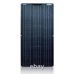Flexible Solar Panel 100w 12V 24 Volt Panel Monocrystalline Module Battery Cell