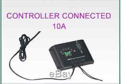 Folding Solar Panel 100W Watt 18V Volt Portable Camping Prospecting Controller