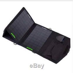 Folding Solar Panel 14W Watt 5V Volt Portable Camping Hiking Phone Travel USB