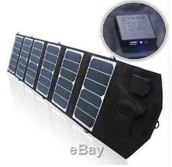 Folding Solar Panel 39W Watt 18V Volt Portable Camping Hiking I Phone Travel USB