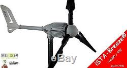 Generatore eolico 48Volt/2000Watt turbine nera iSTA Breeze i-1500 Black Edition