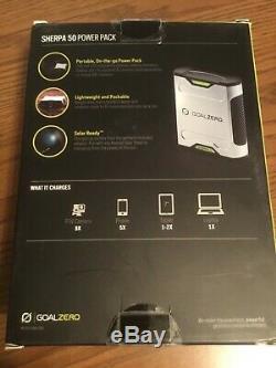 Goal Zero Sherpa 50 Power Pack 12 volt, USB, 19v Laptop Port & AC output