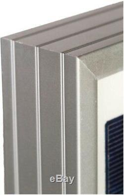 Grape Solar 100-Watt Polycrystalline Solar Panel for RV's, Boats and 12-Volt