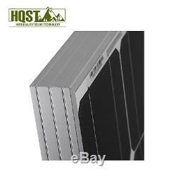 HQST 100W 12V Mono Solar Panel 12 Volt Battery Charger Off Grid Home Boat Yacht