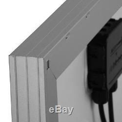 HQST 100 Watt 12 Volt Poly Solar Panel 100W 12V Off Grid Battery Charger RV Home