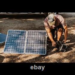Lion Energy Lion 100 100 Watts 18 Volt Monocrystalline Solar Panel, Foldab