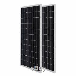 (Lot of 2) Renogy 100W Watt Mono Solar Panel 12V Volt Panels Off Grid Power