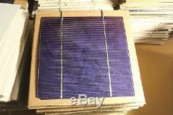 Lot of 300+ 6x6 solar cell. 5 volt 4 watts 6in 6inch 1200 Watt Tabbed Poly DIY