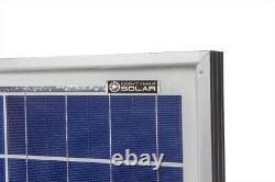 Mighty Max 2 Pack 100 Watt 12 volt polycrystalline off grid solar panel