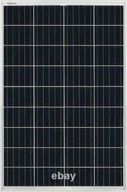 Mighty Max Battery 100 Watt 12 Volt Waterproof Polycrystalline Solar Panel
