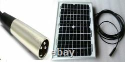 Mobility Scooter Solar Panel Battery Charger 20w 20 watt 24v 24 volt +5m lead