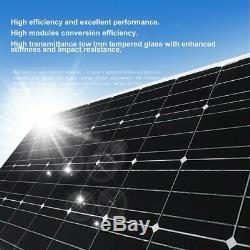 Moncrystalline 175W 175 Watts Solar Panel 18V Volt Mono Off Grid Battery Charge