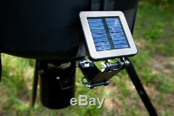 Moultrie 6-Volt Deluxe Solar Panel for Feeders Trickle Charge Redesigned