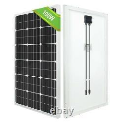 NEW ECO-WORTHY 195/100W Watt 12 Volt Mono Solar Panel High Efficiency RV Marine