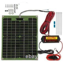 NEW PulseTech 735X640 24 Volt Solar Battery Charger