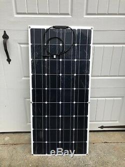 NEW Solar Cynergy 120watt 12volt Monocrystalline Flexible-Bendable Solar Panel