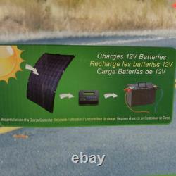 Nature Power 50-Watt Semi-Flex Solar Panel for 12-Volt Charging