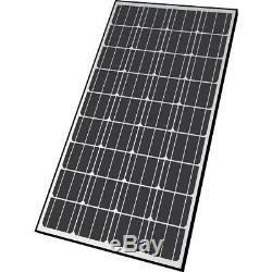 Nature Power Portable Solar Panel 12-Volt Polycrystalline Silicon Brackets Wire
