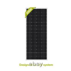 NewPowa 200W Watts Solar Panel 24V Volt Poly Good Condition Off Grid RV Marine