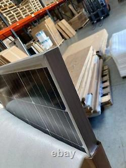 Newpowa 200W Watts Solar Panel 12V Volt Mono Frame damaged Off Grid