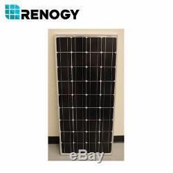 Open Box Renogy 100 Watts 12 Volt Mono Solar Panel 100W 12V RV Marine Off Grid