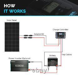 Open Box Renogy 175W 12V Volt Mono-crystalline Solar Panel Off Grid PV Power