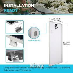 Open Box Renogy 200W Watt 12V Volt Monocrystalline Solar Panel High Efficiency
