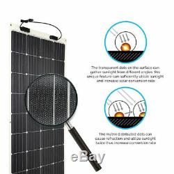 Open Box Renogy 248° Flexible 175W Watt 12V Volt Flexible Mono Solar Panel PV