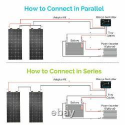 Open Box Renogy 248° Flexible 175W Watt 12 Volt Flexible Mono Solar Panel 175W